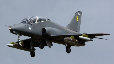 Photo ID 129425 by Lukas Kinneswenger. Finland Air Force British Aerospace Hawk Mk 51, HW 334