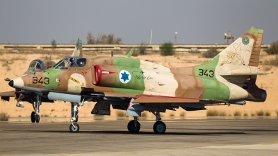 Photo ID 129311 by Andreas Zeitler - Flying-Wings. Israel Air Force McDonnell Douglas A 4N AhitM, 343