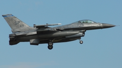 Photo ID 129354 by Alessandro L.. USA Air Force General Dynamics F 16C Fighting Falcon, 91 0421