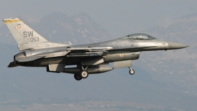 Photo ID 129355 by Alessandro L.. USA Air Force General Dynamics F 16C Fighting Falcon, 01 7053