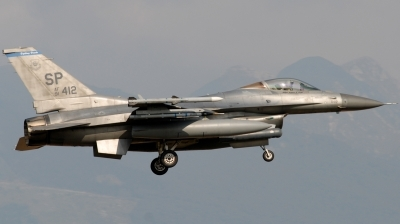 Photo ID 129390 by Alessandro L.. USA Air Force General Dynamics F 16C Fighting Falcon, 91 0412