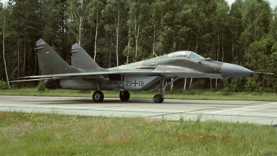 Photo ID 16841 by Rainer Mueller. Germany Air Force Mikoyan Gurevich MiG 29G 9 12A, 29 18