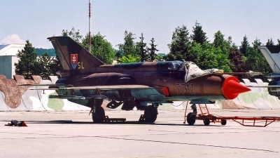 Photo ID 129524 by Roman Mr.MiG. Slovakia Air Force Mikoyan Gurevich MiG 21MF, 7712