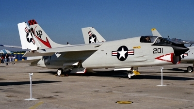 Photo ID 16849 by Michael Baldock. USA Navy Vought F 8A Crusader, 145347
