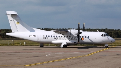 Photo ID 129643 by Mario Boeren. Chad Government ATR ATR 42 300, OY PCN