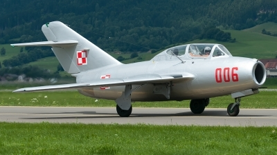 Photo ID 129654 by Varani Ennio. Private Polskie Orly Mikoyan Gurevich MiG 15UTI, SP YNZ