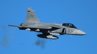 Photo ID 129716 by Ludwig Isch. Sweden Air Force Saab JAS 39C Gripen, 39250