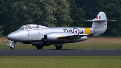 Photo ID 129872 by Rainer Mueller. Private Aviation Heritage Ltd Gloster Meteor T 7, G BWMF
