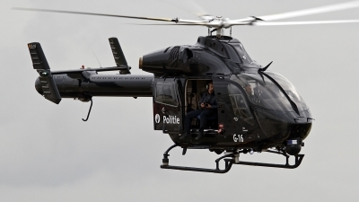 Photo ID 130566 by Niels Roman / VORTEX-images. Belgium Politie Police MD Helicopters MD 902 Explorer, G 16