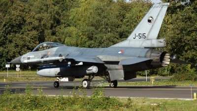 Photo ID 129864 by rob martaré. Netherlands Air Force General Dynamics F 16AM Fighting Falcon, J 515