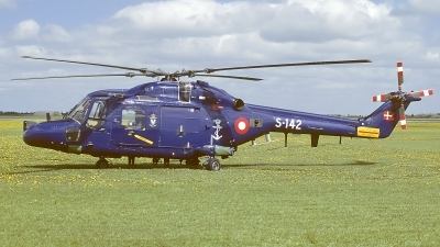 Photo ID 16907 by Rainer Mueller. Denmark Navy Westland WG 13 Lynx Mk80, S 142