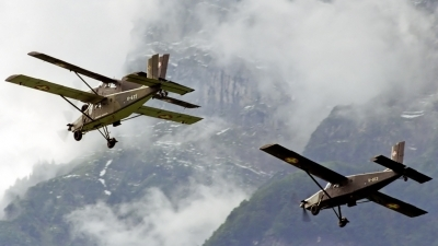 Photo ID 130015 by Sven Zimmermann. Switzerland Air Force Pilatus PC 6 B2 H2M 1 Turbo Porter, V 635