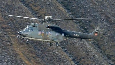 Photo ID 132959 by Martin Thoeni - Powerplanes. Switzerland Air Force Aerospatiale AS 332M1 Super Puma, T 314