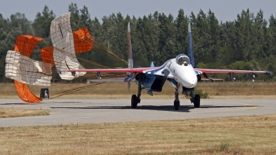 Photo ID 130248 by Niels Roman / VORTEX-images. Russia Air Force Sukhoi Su 27S, 10 BLUE