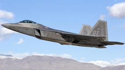 Photo ID 16921 by Craig Pelleymounter. USA Air Force Lockheed Martin F 22A Raptor, 00 4017