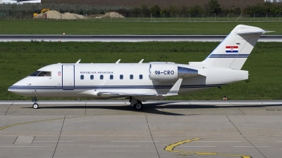 Photo ID 130153 by Chris Lofting. Croatia Government Canadair CL 600 2B16 Challenger 604, 9A CRO