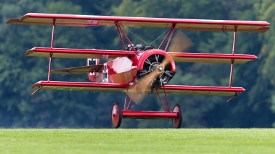 Photo ID 130291 by Andreas Zeitler - Flying-Wings. Private Private Fokker Dr 1 Triplane Replica, D EFTJ