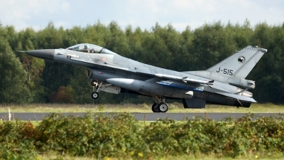 Photo ID 130490 by rob martaré. Netherlands Air Force General Dynamics F 16AM Fighting Falcon, J 515