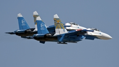 Photo ID 130450 by Niels Roman / VORTEX-images. Russia Air Force Sukhoi Su 27S, 10 BLUE