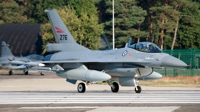 Photo ID 130814 by Jan Eenling. Norway Air Force General Dynamics F 16AM Fighting Falcon, 276
