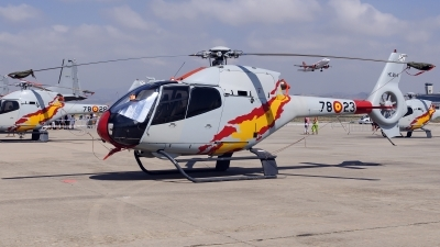 Photo ID 130836 by Jesus Peñas. Spain Air Force Eurocopter EC 120B Colibri, HE 25 4