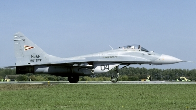 Photo ID 130841 by Marinus Dirk Tabak. Hungary Air Force Mikoyan Gurevich MiG 29A 9 12A, 04