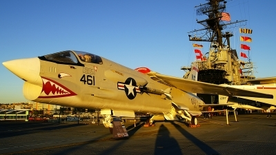 Photo ID 130885 by Lukas Kinneswenger. USA Navy Vought F 8K Crusader, 147030