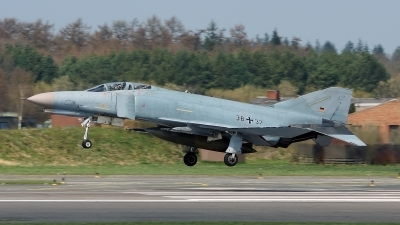 Photo ID 130863 by Lukas Kinneswenger. Germany Air Force McDonnell Douglas F 4F Phantom II, 38 37