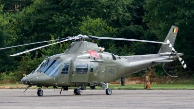 Photo ID 131089 by Jan Eenling. Belgium Air Force Agusta A 109HO A 109BA, H22