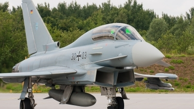 Photo ID 131106 by Roelof-Jan Gort. Germany Air Force Eurofighter EF 2000 Typhoon T, 30 03