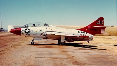 Photo ID 131454 by Robert W. Karlosky. USA Navy Grumman TF 9J Cougar, 142962