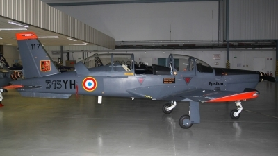 Photo ID 131273 by ALFaviation. France Air Force Socata TB 30 Epsilon, 117