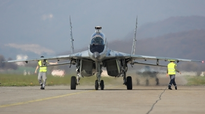 Photo ID 131306 by Ondrej M.. Slovakia Air Force Mikoyan Gurevich MiG 29UBS 9 51, 5304
