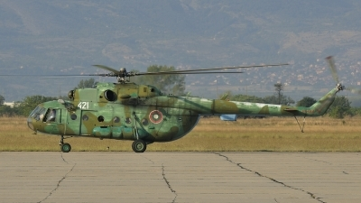 Photo ID 131301 by Peter Terlouw. Bulgaria Air Force Mil Mi 17, 421