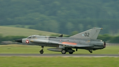 Photo ID 17088 by Melchior Timmers. Austria Air Force Saab J35Oe MkII Draken, 02