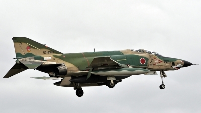 Photo ID 131469 by Eric Tammer. Japan Air Force McDonnell Douglas RF 4E Phantom II, 57 6907