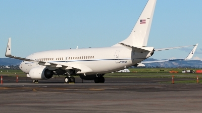 Photo ID 131487 by Patrick Weis. USA Air Force Boeing C 40C BBJ 737 7CP, 02 0201