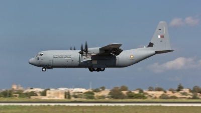 Photo ID 131874 by Doug MacDonald. Qatar Emiri Air Force Lockheed Martin C 130J 30 Hercules L 382, 211