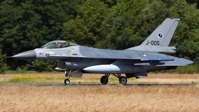 Photo ID 131667 by Rainer Mueller. Netherlands Air Force General Dynamics F 16AM Fighting Falcon, J 005