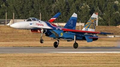 Photo ID 131725 by Niels Roman / VORTEX-images. Russia Air Force Sukhoi Su 27S, 08 BLUE