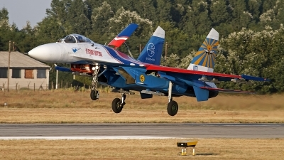 Photo ID 131781 by Niels Roman / VORTEX-images. Russia Air Force Sukhoi Su 27S, 10 BLUE