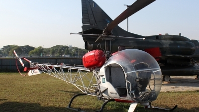 Photo ID 131760 by Patrick Weis. Malaysia Air Force Bell 47G 5, M26 08