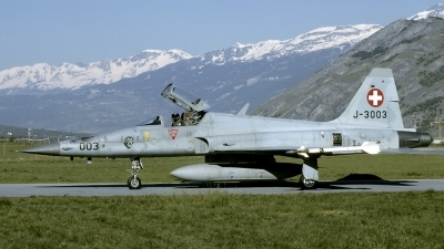 Photo ID 131714 by Joop de Groot. Switzerland Air Force Northrop F 5E Tiger II, J 3003