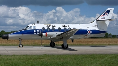 Photo ID 131798 by Rainer Mueller. UK Navy Scottish Aviation HP 137 Jetstream T2, XX476