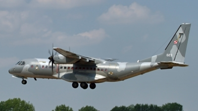 Photo ID 131880 by Chris Albutt. Poland Air Force CASA C 295M, 023