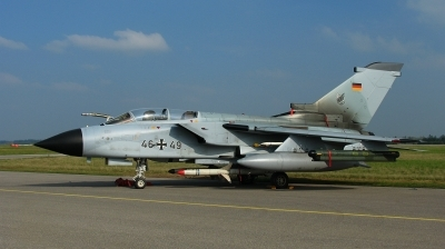 Photo ID 132142 by Alex Staruszkiewicz. Germany Air Force Panavia Tornado ECR, 46 49