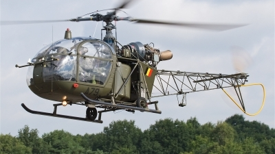 Photo ID 17220 by Alex van Noye. Belgium Air Force Sud Aviation SA 318C Alouette II, A79