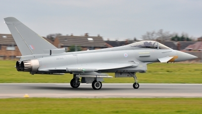 Photo ID 132475 by Stu Doherty. UK Air Force Eurofighter EF 2000 Typhoon FGR4, ZK355