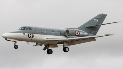 Photo ID 132653 by Andreas Zeitler - Flying-Wings. France Navy Dassault Falcon 10MER, 129