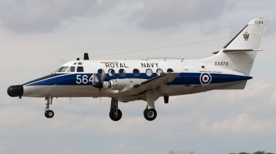 Photo ID 132794 by Andreas Zeitler - Flying-Wings. UK Navy Scottish Aviation HP 137 Jetstream T2, XX478